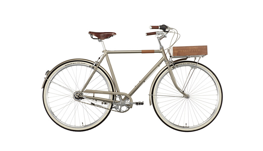 Creme Caferacer LTD Standardcykel Herr 7-speed beige